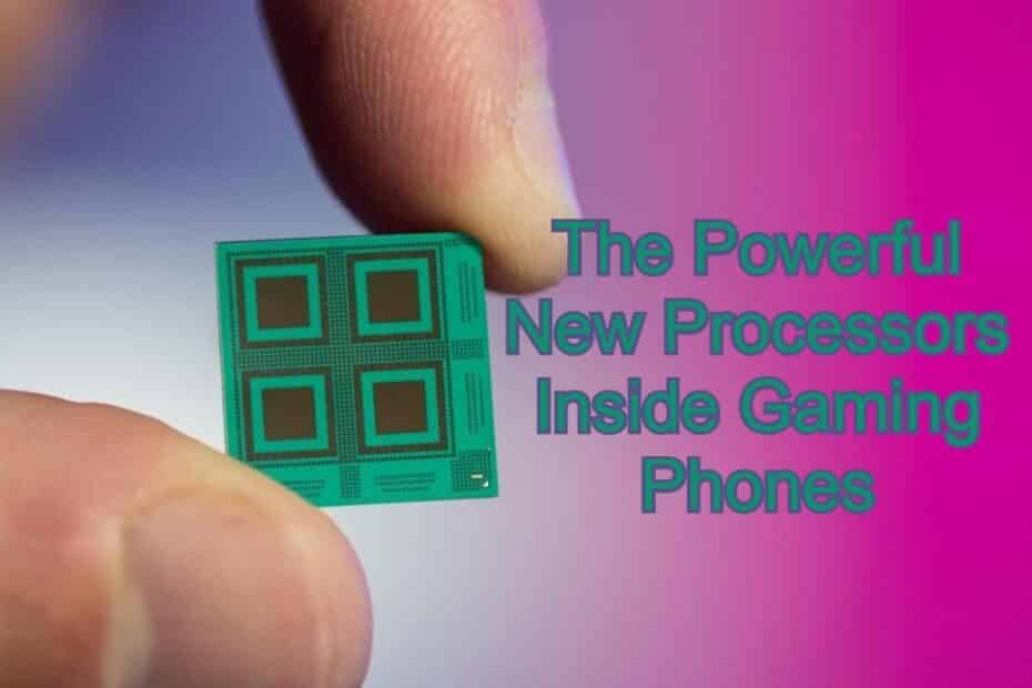 The Powerful New Processors Inside Gaming Phones